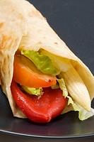 Vegetable ´fajita´, Tex-Mex cuisine