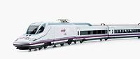 AVE (Spanish High-speed train), model Talgo 350 Serie 102 ´Pato´ (Duck)
