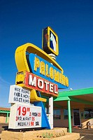USA  New Mexico  Route 66  Tucumcari  Palomino Motel