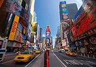 USA New York City Manhattan Times Square