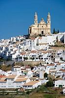 Nuestra Señora de la Encarnacion church, Olvera. Cadiz province, Andalucia, Spain
