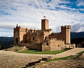 Castillo de Javier, birthplace of Saint Francis Xavier. Way to St. James. Navarre. Spain