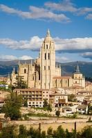 Cathedral, Segovia. Castilla-Leon, Spain