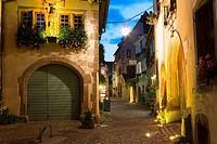 Riquewihr town, Alsace, France