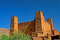 Morocco, Dades Valley, kasbah ruins
