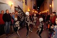 Danza de la Muerte, Verges, Baix Emporda, Girona province, Cataluña, Spain