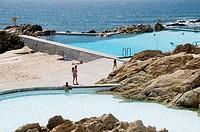 Piscinas das Marés swimming pools developed by architect Alvaro Siza, Leça da Palmeira, Portugal