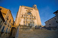 Cathedral of Girona in Catalonia, Spain