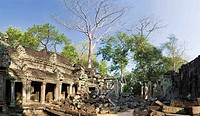 Cambodia Temples of Angkor Ta Prohm Inner sanctuary