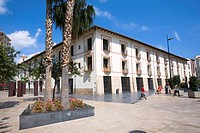 Old University building founded in the 16th century by Francis Borgia, Gandia. Valencia province, Comunidad Valenciana, Spain