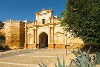 Puerta de Córdoba The Cordoba Gate in Carmona, Sevilla, Spain  Originally constructed by the Romans in the first century, the last work was carried ou...