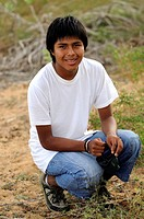 15 year old Aymara teen boy, Bolivia