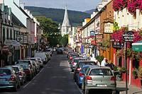 Ireland Kerry Kenmare Henry Street scene