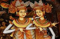 Painting, Ubud, Bali, Indonesia