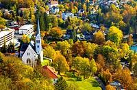 The St Martin´s parish church in Bled, Slovenia
