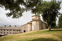 Sanctuary of San Miguel de Aralar, Mount Artxueta, Lekunberri, Navarra, Spain
