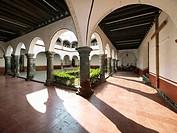 Convento de San Pedro Cloister. Tlahuac, Ciudad de México.