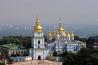 St Michael of the Golden Cupolas monastery,Kiev,Ukraine