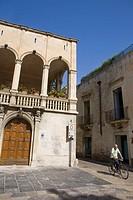 Old town, Lecce. Province of Lecce, Apulia, Italy