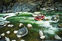 Rafting the Mohaka river North Island, New Zealand