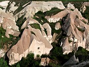 Cappidocia, UNESCO, World Heritage Sitehomes carved into rock formations