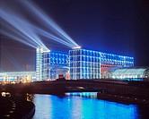 Spree River, Berlin Hauptbahnhof (Berlin Central Station), Berlin, Germany