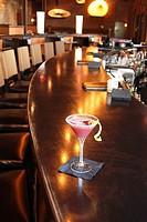 pink margarita, bar drink, bar, specialty drink, alcohol, restaurant, singles bar, lemon twist