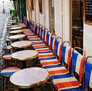 Cafe restaurant, Montmartre, Paris, France, Europe
