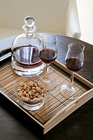 Aperitif and wine