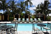 Bahamas Eleuthera Harbour Island Dunmore Hotel Rock House Swimming Pool