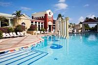 Bahamas, New Providence Island, Nassau Royal Sandals Bahamian Hotel Swimming pool