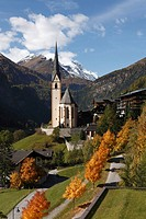 Heiligenblut, Großglockner mountain, National park Hohe Tauern, Carinthia, Austria