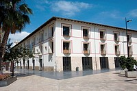 Former University building, Gandia. Valencia province, Comunidad Valenciana, Spain