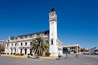 Clock tower, port of Valencia. Comunidad Valenciana, Spain