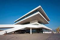 America´s Cup Pavilion, ´Veles e Vents´ building by David Chipperfield, Valencia. Comunidad Valenciana, Spain