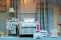 Window display, Laura Ashley shop Hereford Herefordshire United Kingdom