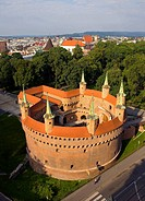 Poland Krakow Barbican