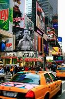 USA, New York City, Times Square, Manhattan