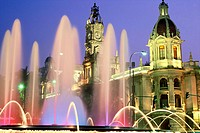 Spain. Valencia. Cityhall