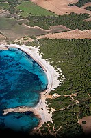 Spain, Balearic Islands, Mallorca, Sesa Salines, Platja des Caragol