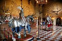 The Great Hall, Warwick Castle, England, UK