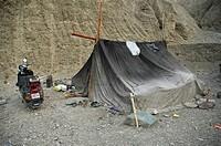 A camp along a road in Ladakh Ladakh, India