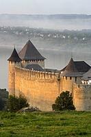 Khotyn,Chocim,Fortress,citadel,13th-15th-18th century,Dniester river,Chernivtsi Oblast province,Western Ukraine