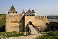Khotyn,Chocim,Fortress,citadel,13th-15th-18th century,Chernivtsi Oblast province,Western Ukraine