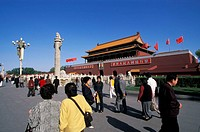 Gate of Heavenly Peace, Forbbiden City, Tiananmen square, Beijing, China