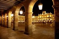 Main Square, Salamanca. Castilla-Leon, Spain