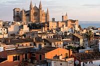 La Seu Cathedral in Palma de Mallorca, Balearic Islands, Spain