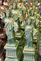 Liberty Statuettes, New York City, USA