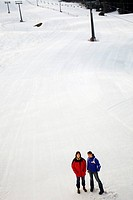 Skiing resort, Feldberg, Black Forest, Germany