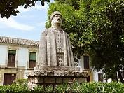 Córdoba España  Monumento a Al-Hakam II o Alhakén II en el Campo Santo de los Mártires de la ciudad de Córdoba  Monument to Al-Hakam II or Alhaken II ...